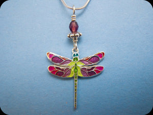 Small Dragonfly Pendant (rose)