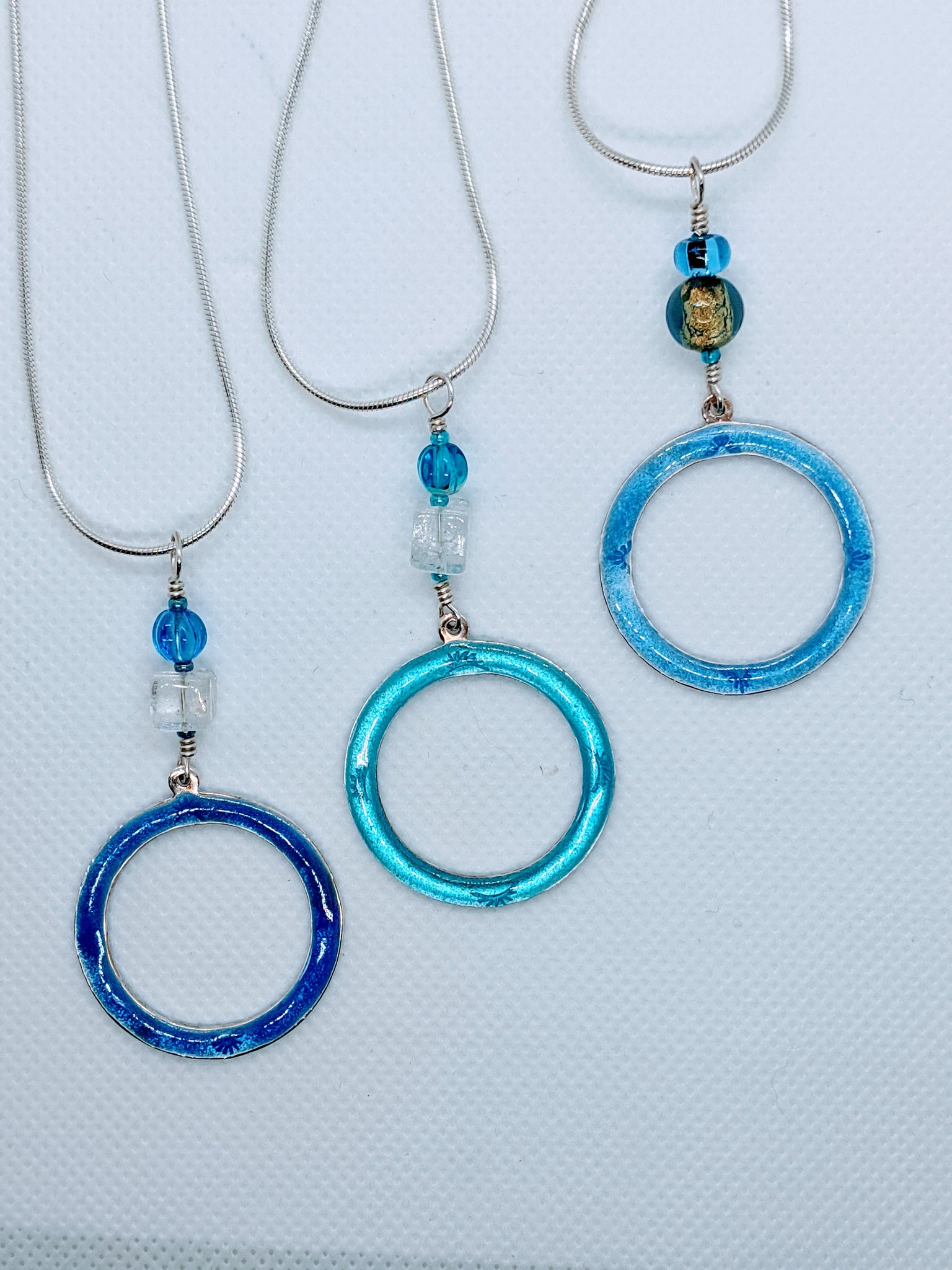 Open Circle Pendants