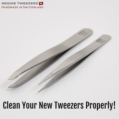 How to Clean your Regine Tweezers