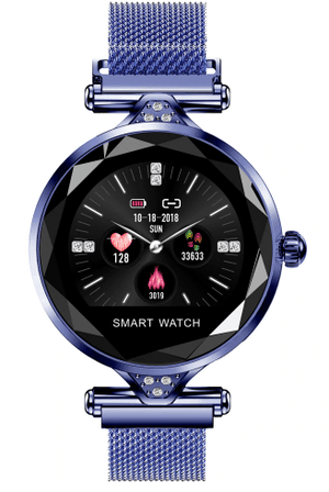Stainless Steel Ladies Smart Watch