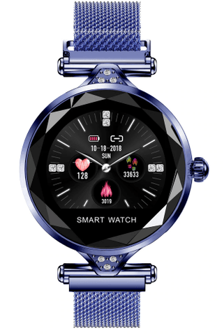 Image of Stainless Steel Ladies Smart Watch