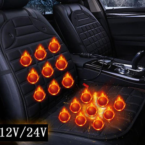 Image of Heated Car Seat Cushion