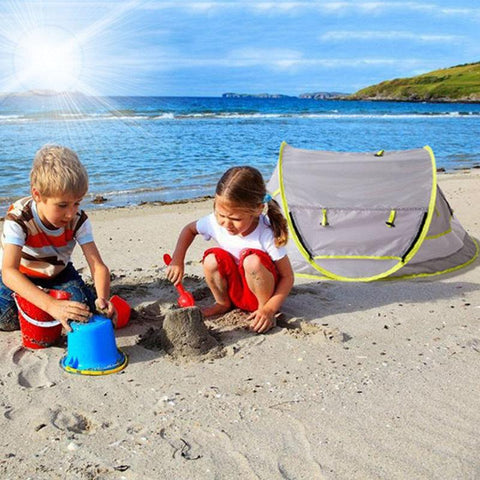 Image of Portable Baby Mosquito net Pop Up Tent for Insects Outdoors