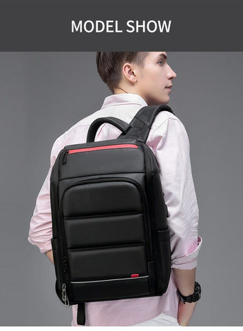 Image of 15.6 Inch Laptop Travel Backpack Water Repellent Functional Rucksack With USB Charging Port