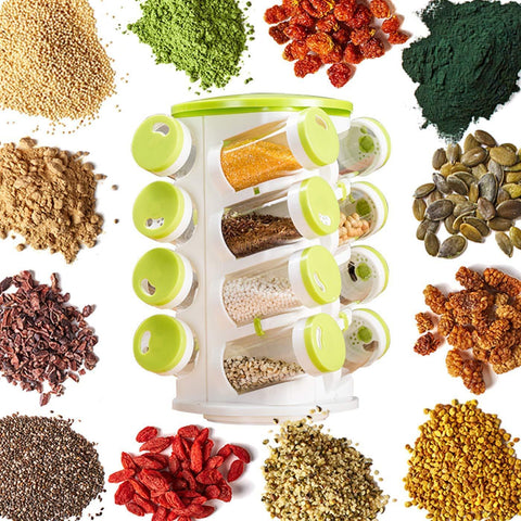 Image of 16-In-1 Revolving Spice Rack