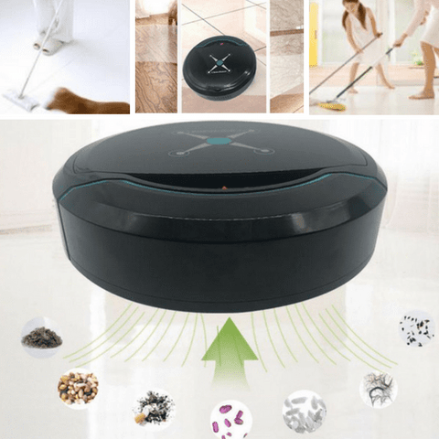 Image of #1 Robotic Vacuum - Pet Hair Robot Vacuum - Auto Robot Cleaner - thetrendclub
