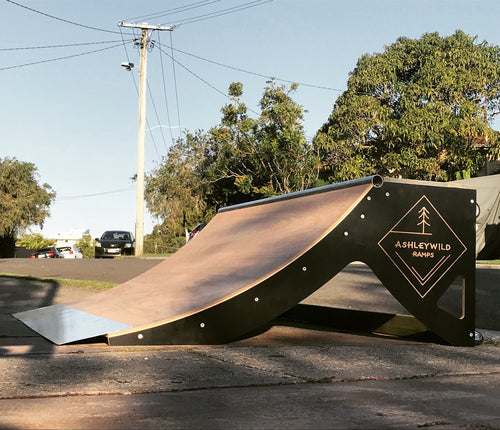 2ft Quarter Pipe (Installed)
