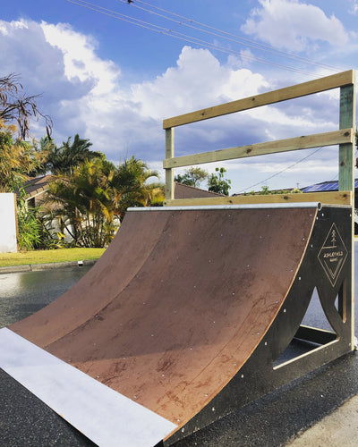 3ft Quarter Pipe (Installed)
