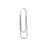 Gem Stainless Steel Paper Clips, .041in, 50/BX