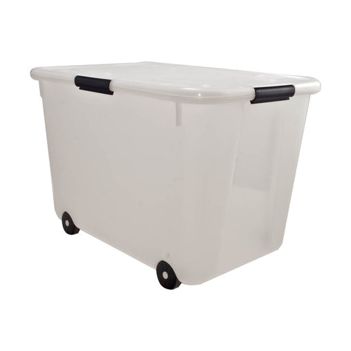 Advantus 15 Gallon Storage Box, Clear
