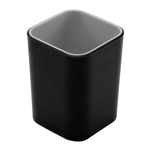 Fusion Pencil Cup, Black/Gray