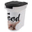 PawPrints Pet Food Bin, Bulldog, 15 lbs