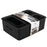 Plastic Weave Bins, Black, 10-Pack