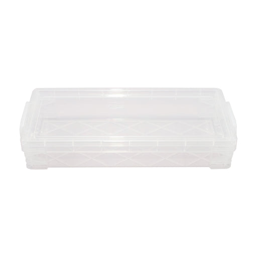 Super Stacker Pencil Box, Clear