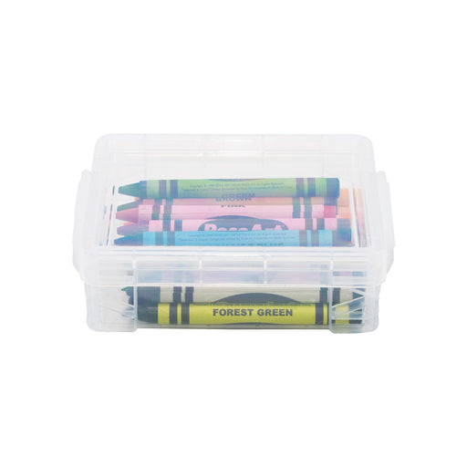 Super Stacker Crayon Box, Clear