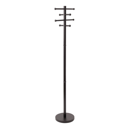 Advantus RTA Wood Coat Tree, Black