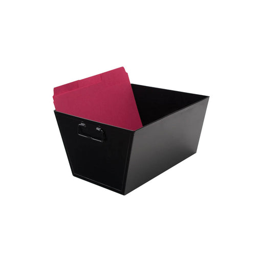 Advantus Steel File Bin, Letter Size