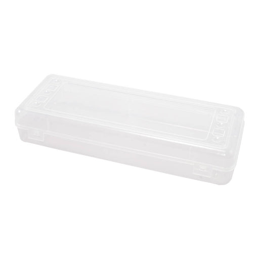 Advantus Stretch Pencil Box, Clear