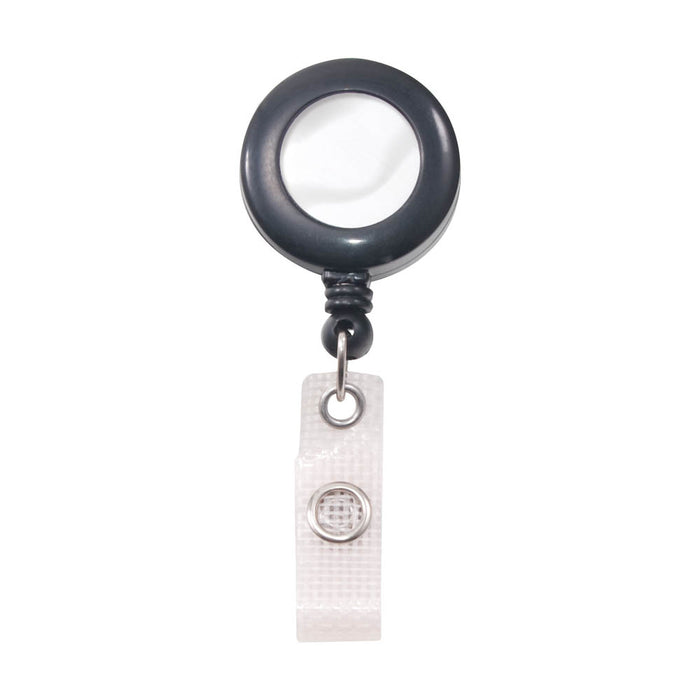 Advantus Deluxe Retractable ID Reel with Badge Strap, 12/BX
