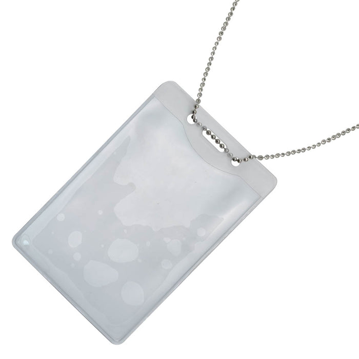 Advantus ID Badge Holder Chain, 100/BX