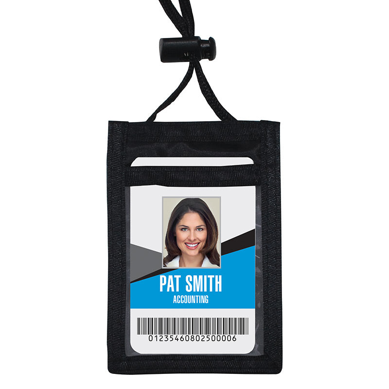 Advantus ID/Convention Neck Pouch, Vertical, 2¼in. x 3½in, 12/PK