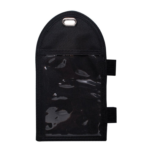 Advantus Badge Holder with Pen Loop, Black, 2¾in. x 3¾in, 12/BX