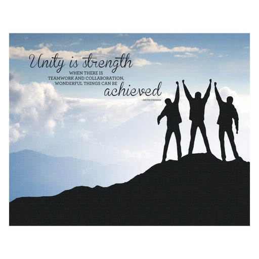 Advantus Canvas Motivational Print, Unity, 22in. x 28 in.