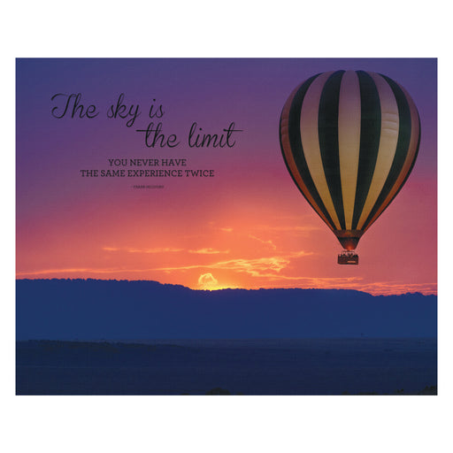Advantus Canvas Motivational Print, Sky is the Limit, 22in. x 28 in.
