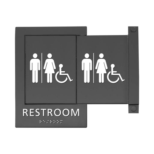 Advantus Pop Out ADA Sign, Wheelchair