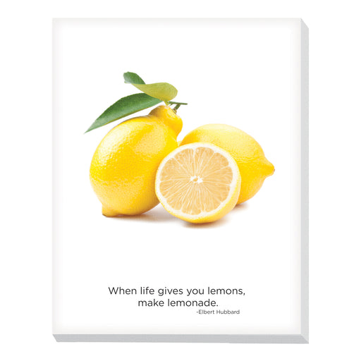Advantus Canvas Motivational Breakroom, Fruit, Lemons
