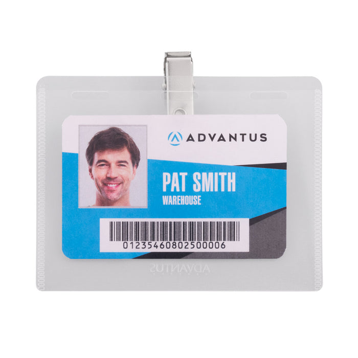 Advantus DIY Clip Badge Kit, 50/PK