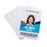 Advantus DIY Plastic ID Cards, 100/PK