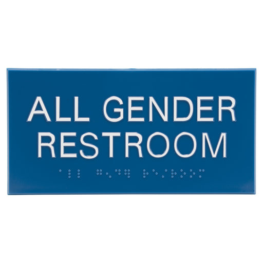Advantus All Gender Restroom ADA Signs, CA Combo Pack