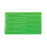 Advantus Vinyl Wristband, Green, 100/PK