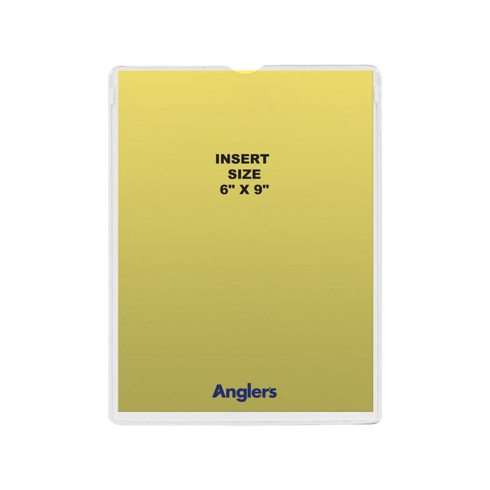 Anglers Sturdi Kleer Self Stick Envelopes, 6in.x9in, 50/PK