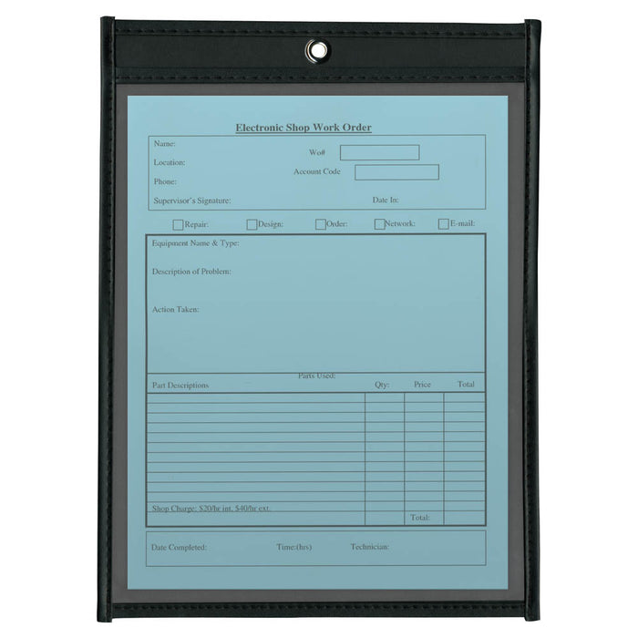 Anglers Job Ticket Holder, 9in. x 12in, 25/BX