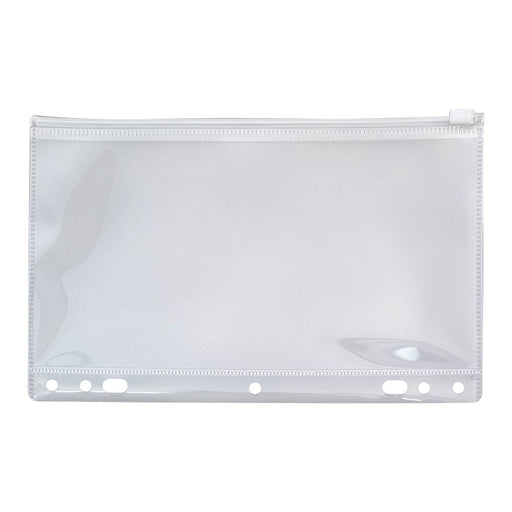 Angler's Zip All Ring Binder Pockets, Clear, 6in. x 9 _in.