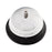 Advantus Call Bell, Chrome Finish with Black Base