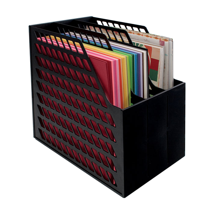Storage Studios Easy Access Paper Holder, Black
