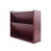 Carver Wood Hardwood Double Wall File, Mahogany