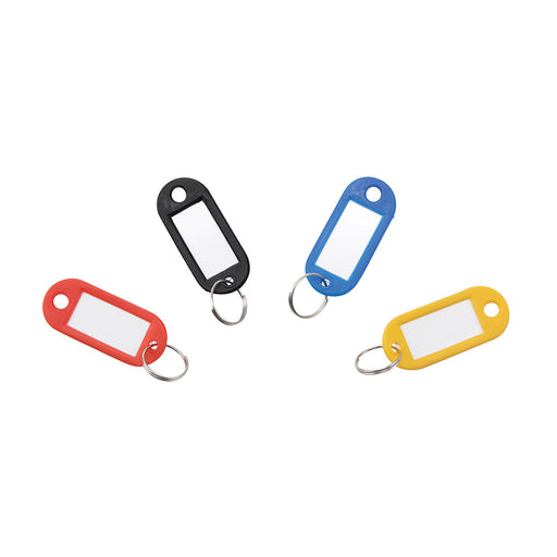Key Tags Label Window 20-pack - Assorted Colors