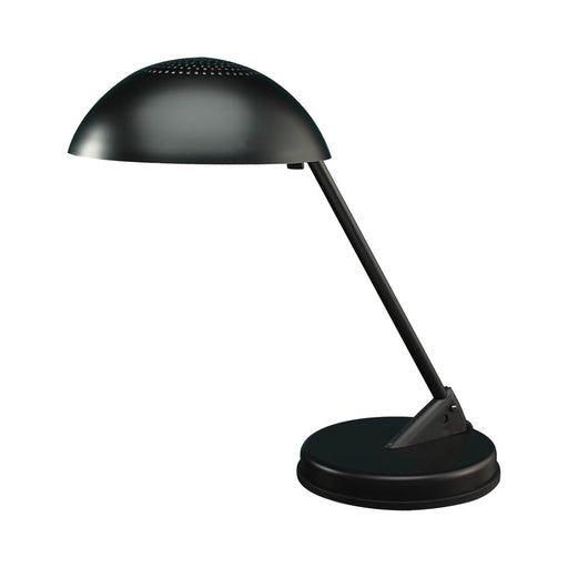 Ledu CFL Domed Desk Lamp, Matte Black