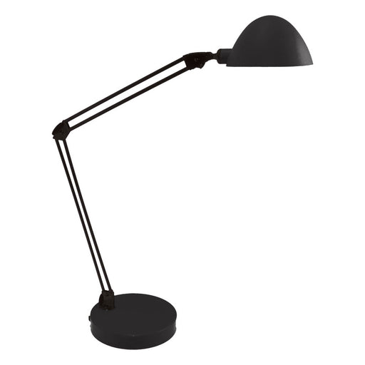 Ledu Flex Reach Domed LED Desk Lamp, Black