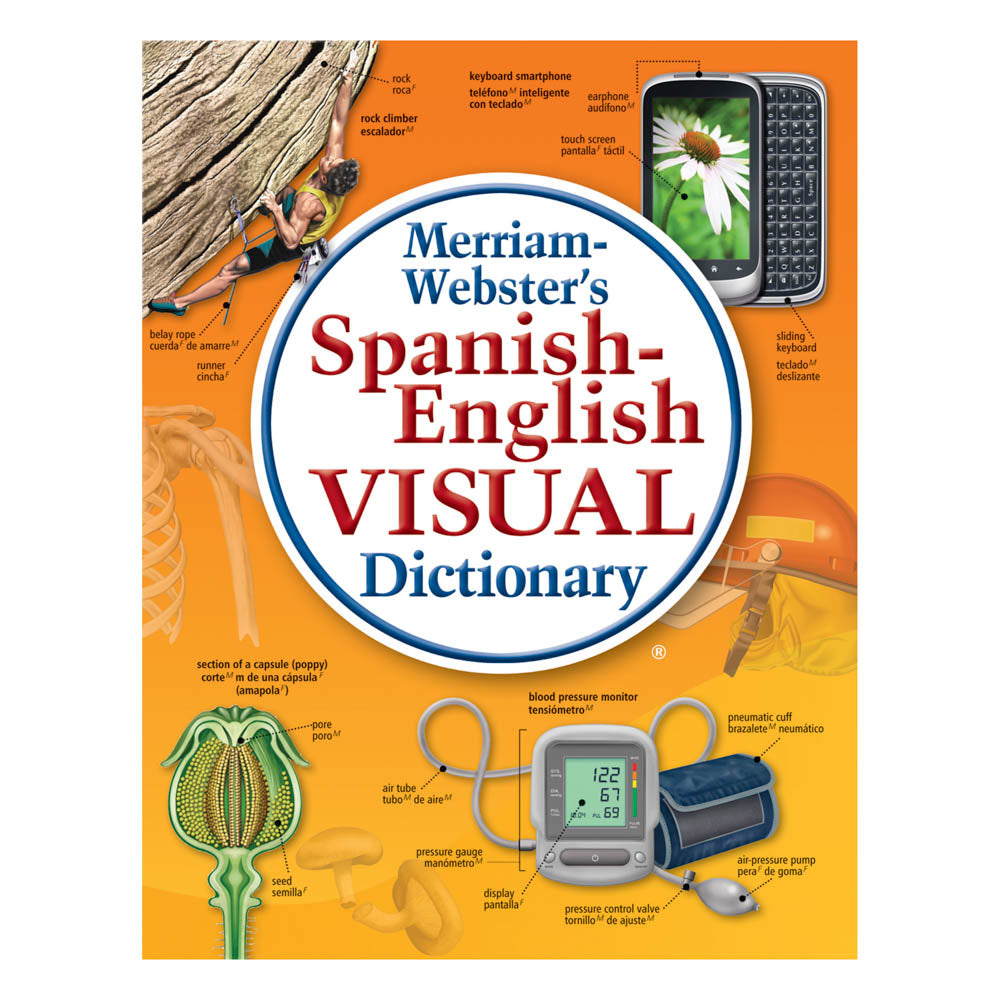 Merriam Webster's Spanish English Visual Dictionary