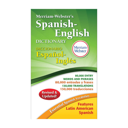 Merriam Webster's Spanish English Dictionary