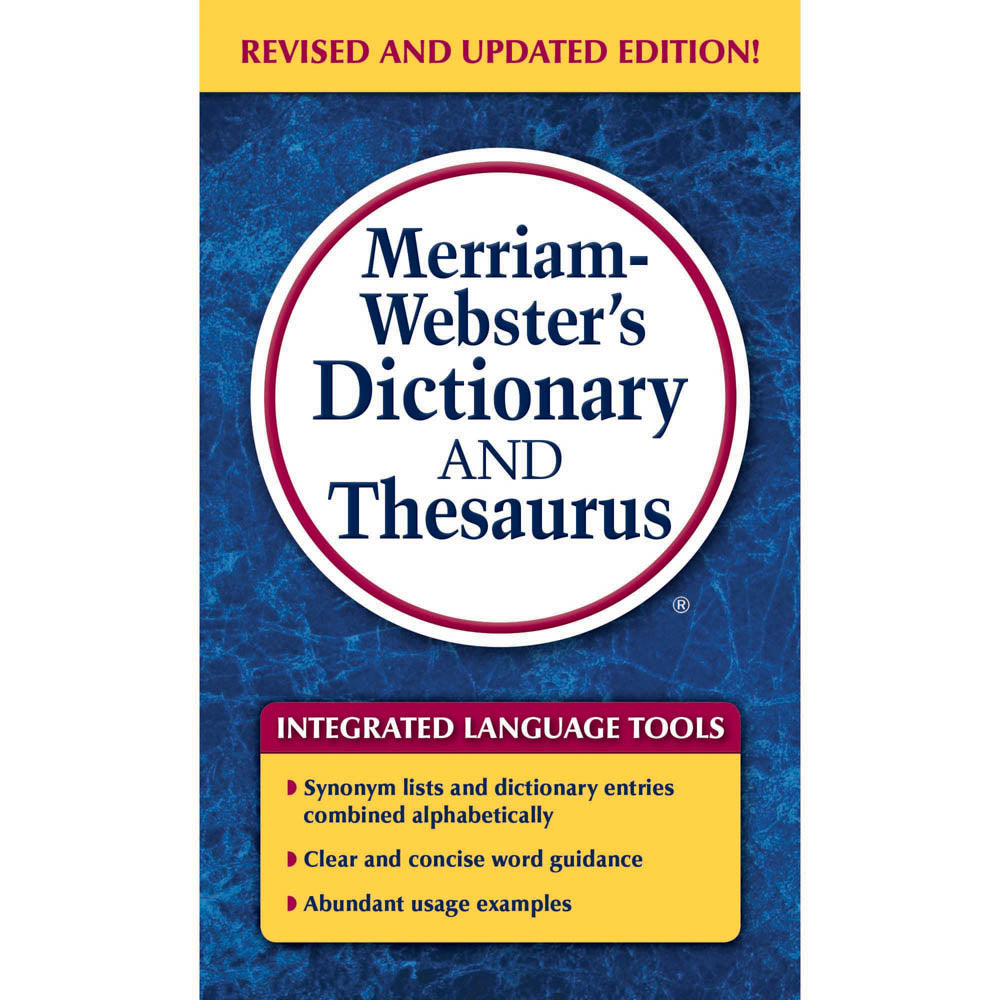Merriam Webster's Dictionary & Thesaurus