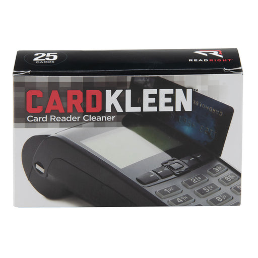 Read Right CardKleen, 25 card/BX