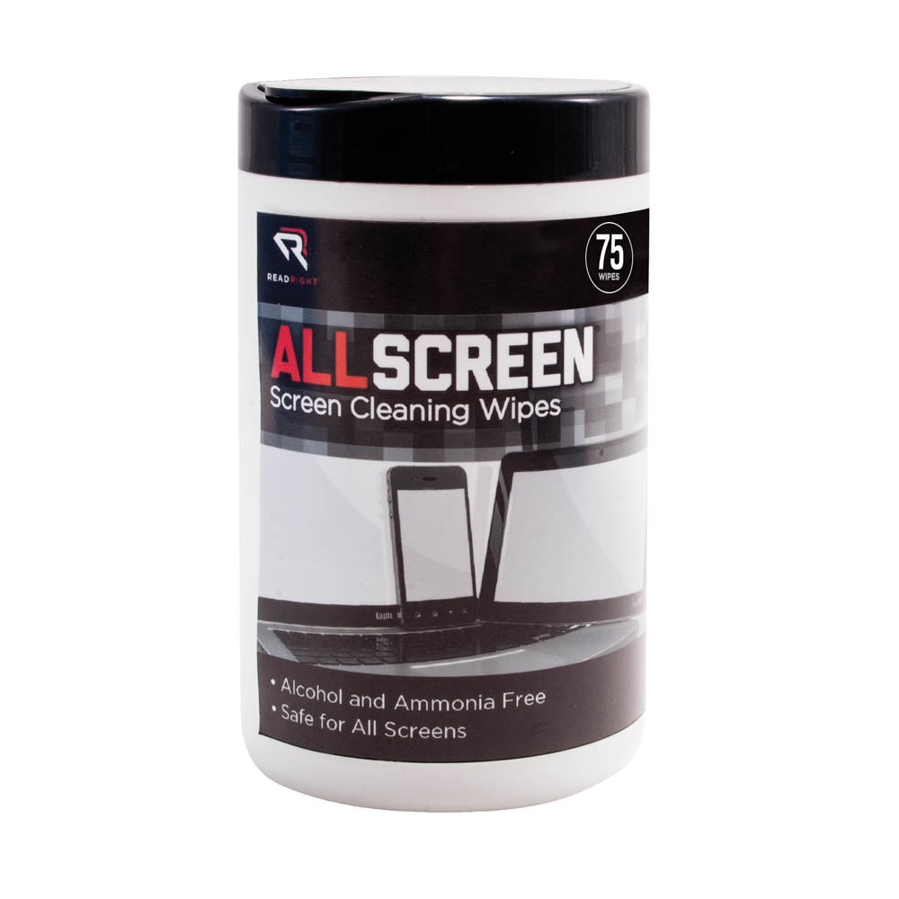 Read Right AllScreen Screen Cleaning Wipes Tub