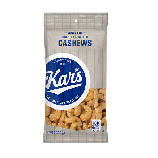 Kar's Salted Cashews, 1 oz, 30/CT