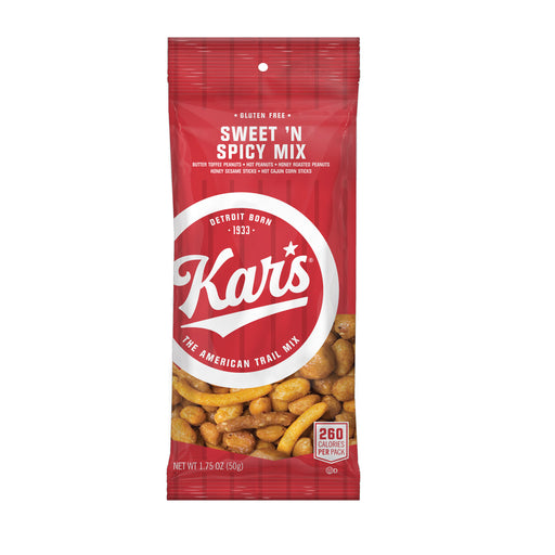 Kar's Sweet 'N Spicy Mix, 1.75 oz, 24/BX